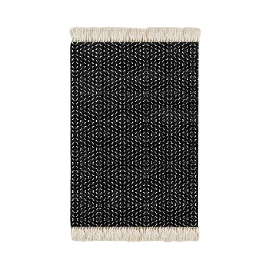 Floor rug black and white print design beryl phala limited treniq 1 1498488831846