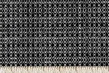 Floor rug black and white knit print design beryl phala limited treniq 1 1498489637326
