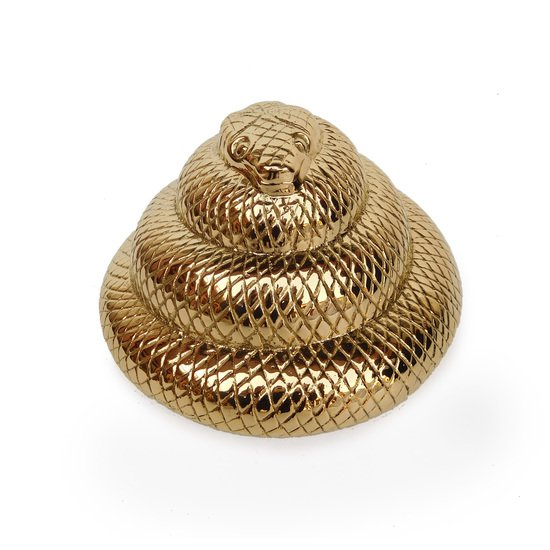 Brass animal collection   snake gilded home treniq 1 1498497981577