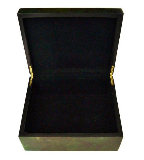 Emerald green penshell box gilded home treniq 1 1498498437553