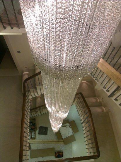 Twister stairwell chandelier mallory custom lighting treniq 1 1498826856189
