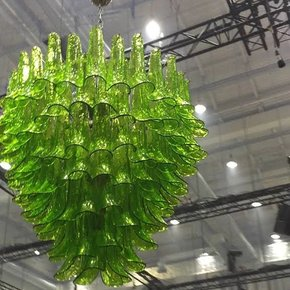 Green-Petal-Chandelier_Mallory-Custom-Lighting_Treniq_0