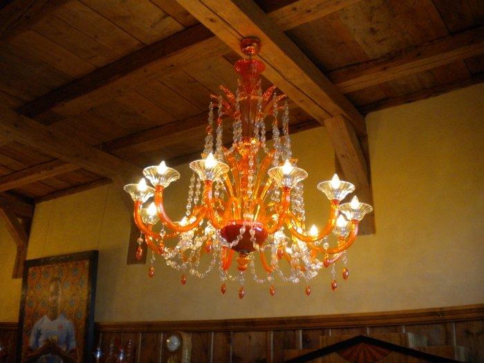 Orange murano chandelier mallory custom lighting treniq 1 1498828444530