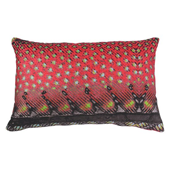 Red avadavat velvet cushion anjali hood ltd. treniq 1 1499003739849