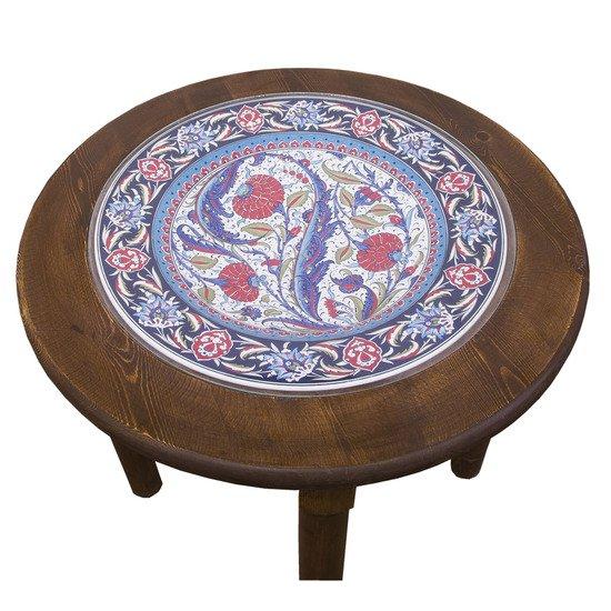 Stoneware plate wood table 001 quartz ceramics treniq 3 1499244772399