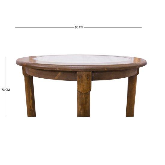 Stoneware plate wood table 001 quartz ceramics treniq 3 1499244772400