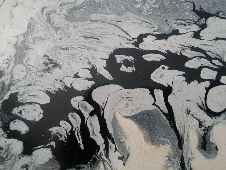 Black and white flow ritzi art treniq 1 1499351681531