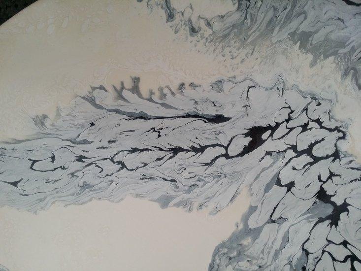 Black and white flow ritzi art treniq 1 1499351690176