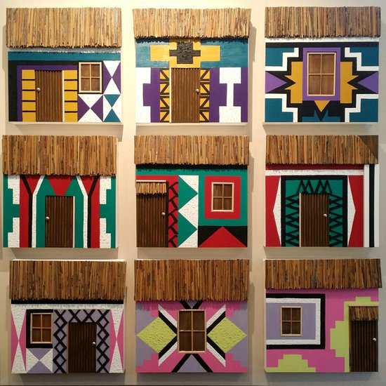 Ndebele collage ritzi art treniq 1 1499356011456