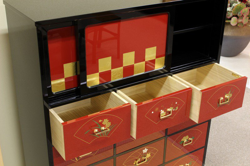Kyo urushi collection japanese lacquer small chest %22akikusa%22 matsuso co.  ltd. treniq 1 1499756169412