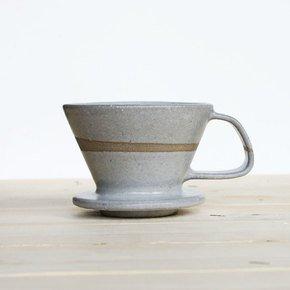 Coffee-Drip-Brewer-Light-Grey_Eunmi-Kim-Pottery_Treniq_0
