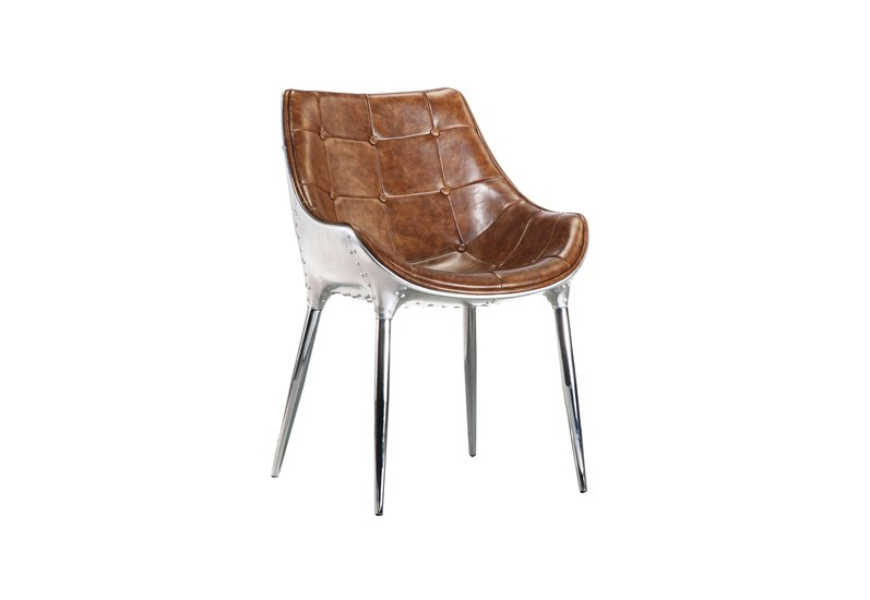 Trending aviator leather dining chair  shakunt impex pvt. ltd. treniq 1 1499938317180