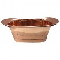 Luxurious polished copper bathtub thomas james bath collections treniq 1 1499976207820