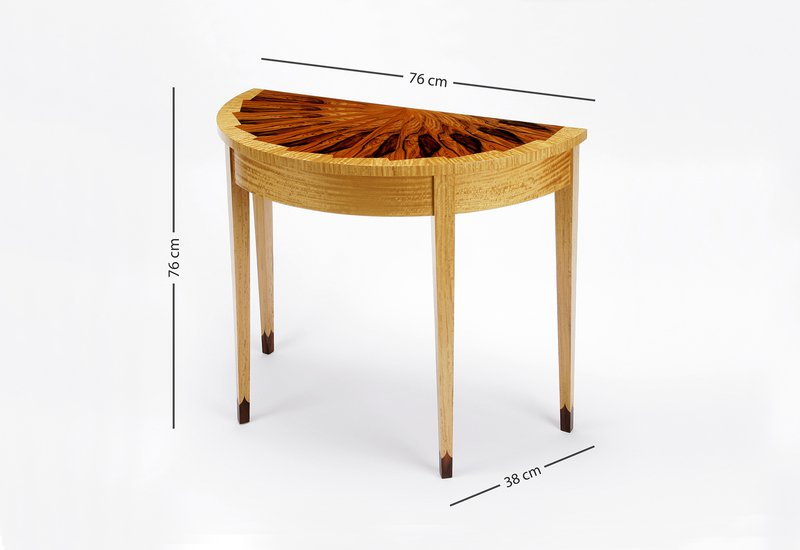 Eventail console table philip dobbins 5