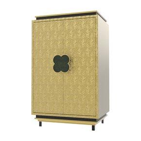 Happy Clover Limited Edition Cabinet Rose Brass - Mari Ianiq - Treniq