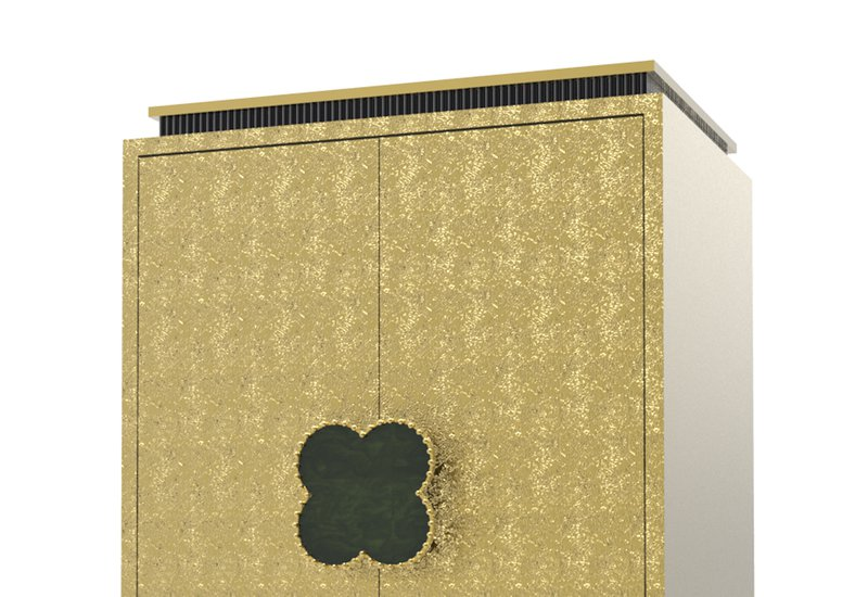 Happy clover limited edition cabinet rose brass mari ianiq treniq 2