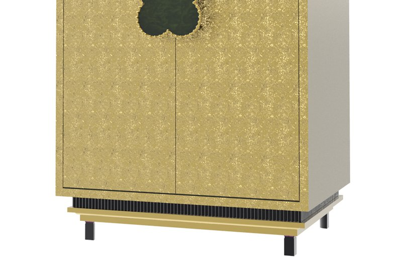 Happy clover limited edition cabinet rose brass mari ianiq treniq 3