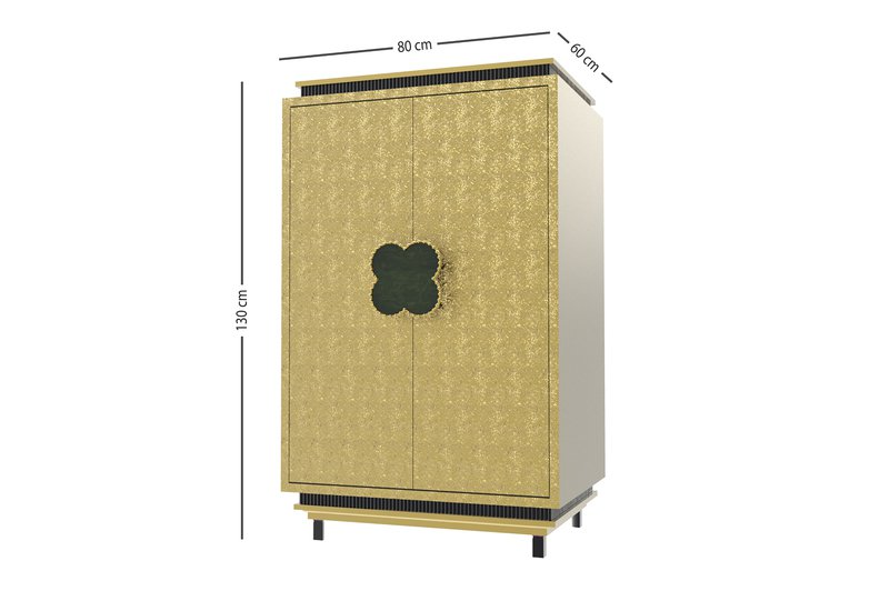 Happy clover limited edition cabinet rose brass mari ianiq treniq 4