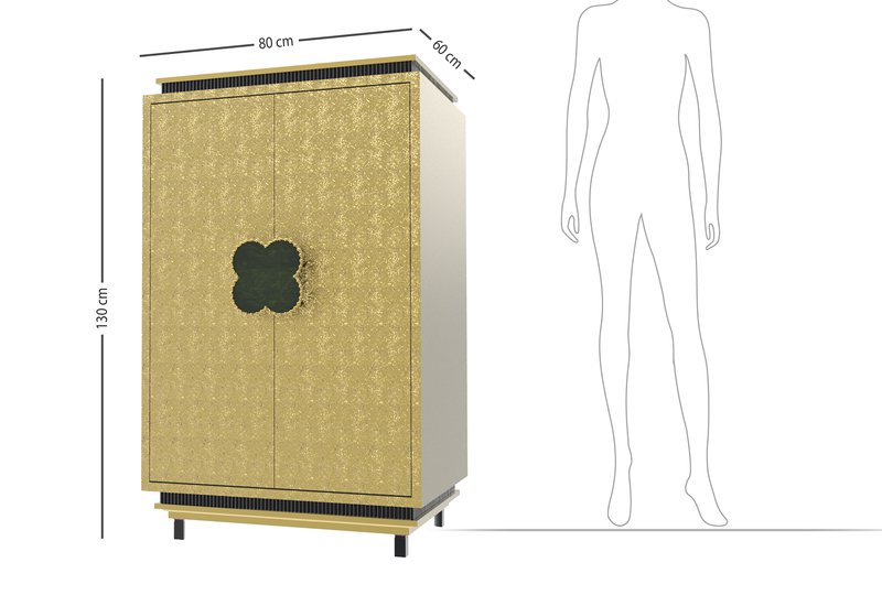 Happy clover limited edition cabinet rose brass mari ianiq treniq 5