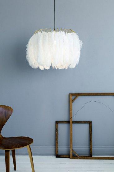 Feather pendant lamp white mineheart treniq 1 1500477621848