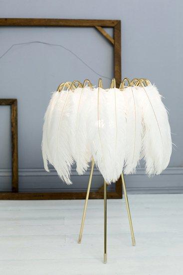Feather table lamp white mineheart treniq 1 1500478009770
