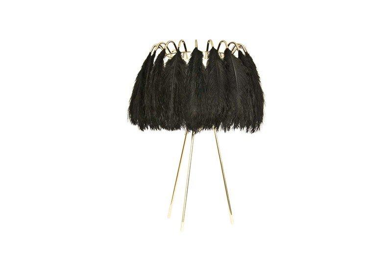 Feather table lamp black mineheart treniq 1 1500478248752