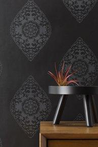 Boteh Wallpaper - Pearl