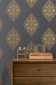 Boteh-Wallpaper-Slate_Relativity-Textiles_Treniq_0