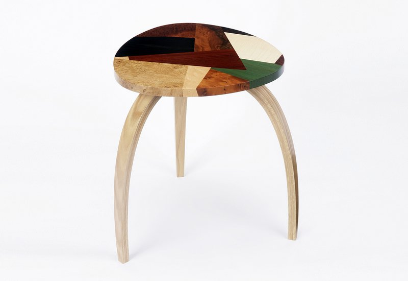 Mosaic side table philip dobbins 2