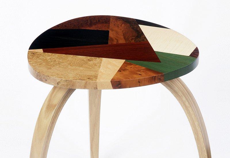 Mosaic side table philip dobbins 3