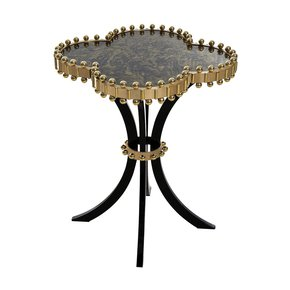 Happy Clover Side Table Brass - Mari Ianiq - Treniq