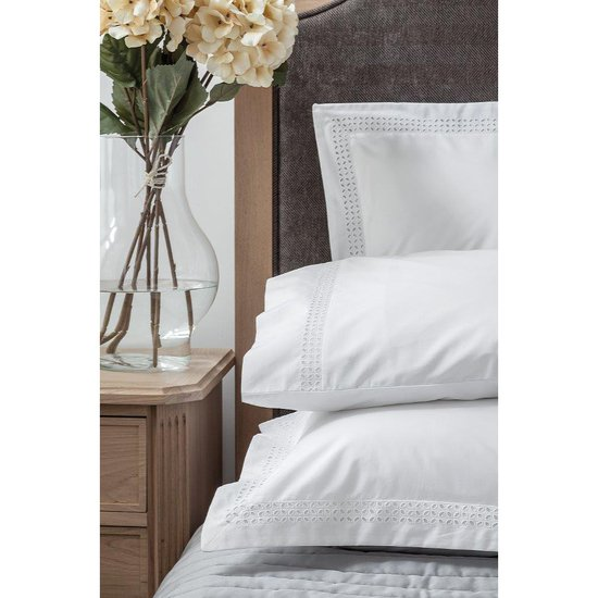 Plaza egyptian cotton percale 400 thread bed linen kings of cotton treniq 1 1501079502623