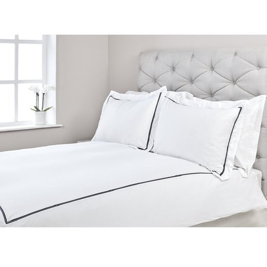 Capri fairtrade organic cotton sateen 300 thread duvet cover set kings of cotton treniq 1 1501079632870