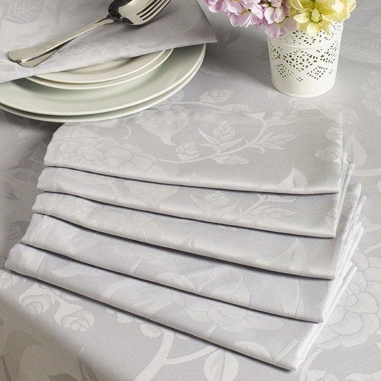 Superior damask cotton tudor design table linen kings of cotton treniq 1 1501083472392