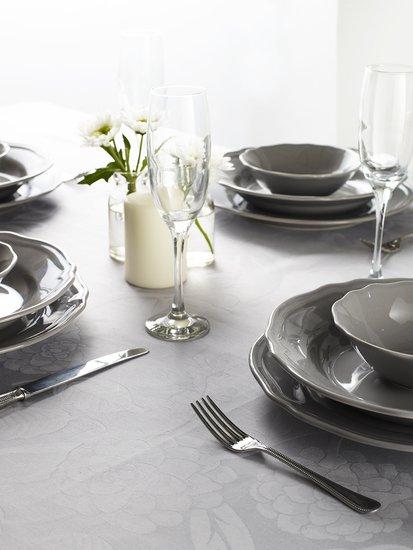 Superior damask cotton tudor design table linen kings of cotton treniq 1 1501083472390