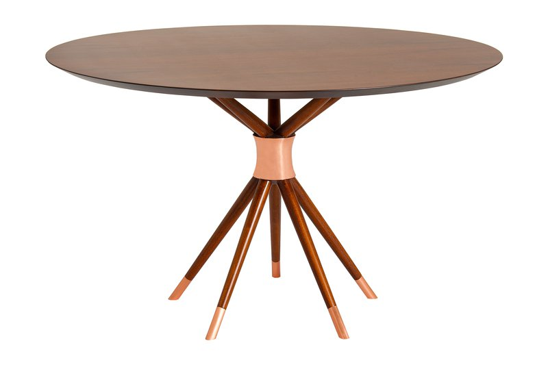 Ballerina dining table by amelia tarozzo (copper details) kelly christian designs ltd treniq 1 1501588205579