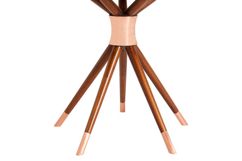 Ballerina dining table by amelia tarozzo (copper details) kelly christian designs ltd treniq 1 1501588213096