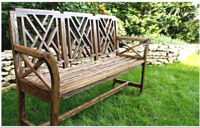 Elegance garden bench due treniq 1 1501589136608