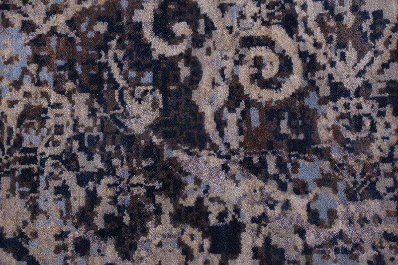 Transitional hand knotted wool viscose rugs carpet overseas treniq 1 1501827276463
