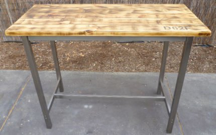 Rustic industrial reclaimed wood bar table  shakunt impex pvt. ltd. treniq 1 1501834913976