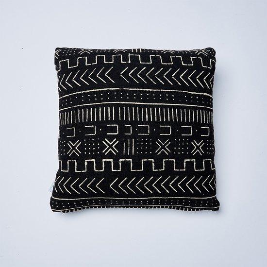 black mountain mudcloth cushion nomad design treniq 1 1503575092553
