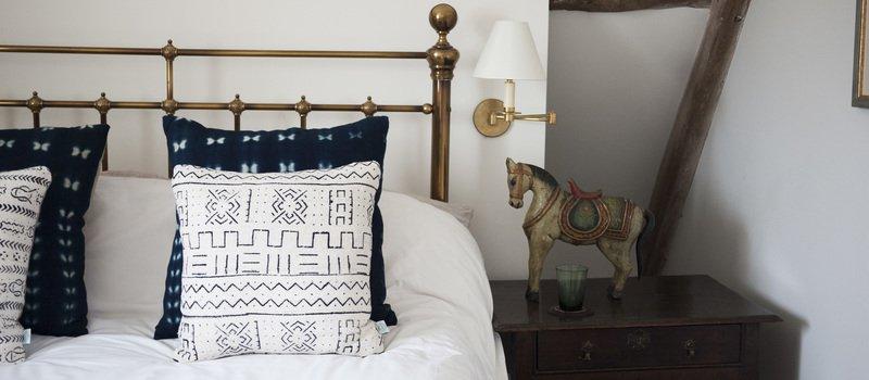 white river mudcloth cushion nomad design treniq 1 1503575325366