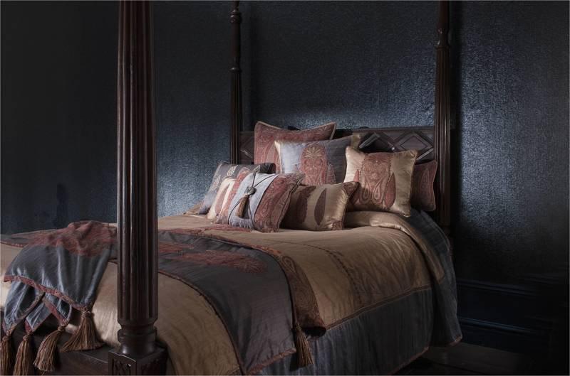 Paisley bedspread aztaro ltd. treniq 1 1503780876583