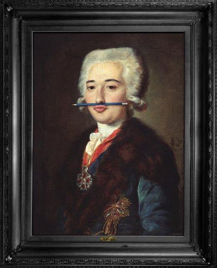 'the blue pencil' canvas mineheart treniq 1 1503846214789