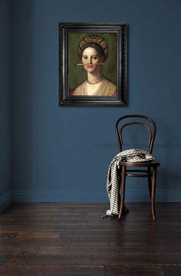 'the orange pencil' canvas mineheart treniq 1 1503846396159