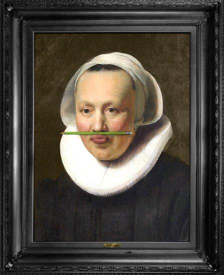 'the green pencil' canvas mineheart treniq 1 1503846581738