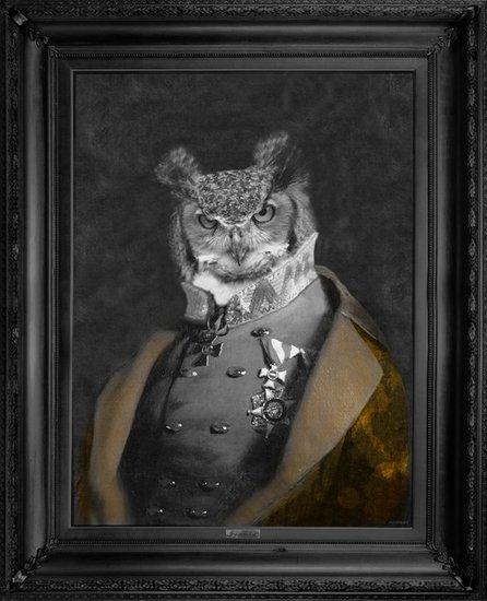 'grandfather olaf'   gold edition canvas mineheart treniq 1 1503847817442