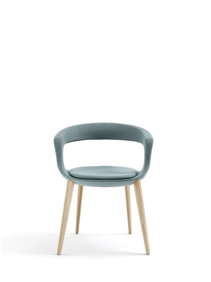 Frenchkiss chair   low back   wood   felt enrico pellizzoni treniq 1 1504019109638