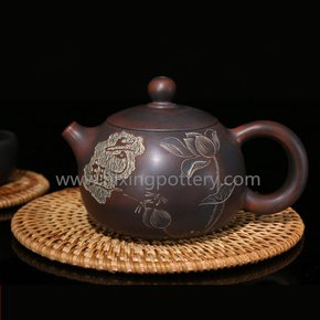 Qinzhou-Chinese-Nixing-Pottery-Antiqued-Xishi-Purple-Clay-Pot-Pure-Handmade_Nixing-Pottery_Treniq_0