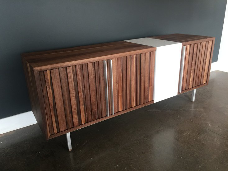 Black walnut   cambria quartz torquay credenza bois   design treniq 1 1504485411645